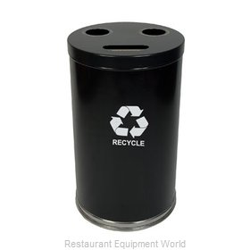 Witt Industries 18RTBK Waste Receptacle Recycle