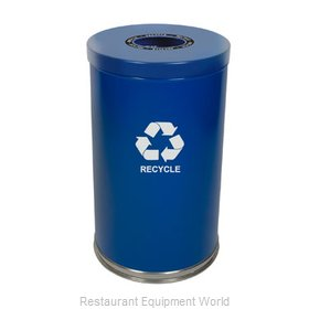 Witt Industries 18RTBL-1H Waste Receptacle Recycle
