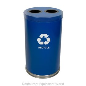 Witt Industries 18RTBL-2H Waste Receptacle Recycle