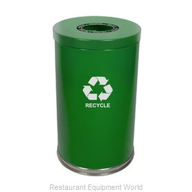 Witt Industries 18RTGN-1H Waste Receptacle Recycle
