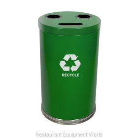 Witt Industries 18RTGN Waste Receptacle Recycle