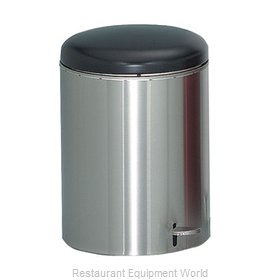 Witt Industries 2240SS Waste Basket Metal