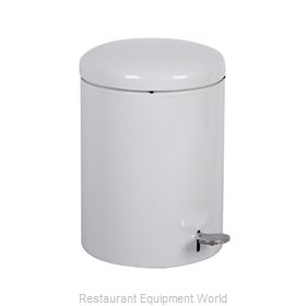 Witt Industries 2240WH Waste Basket Metal