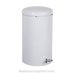 Witt Industries 2270WH Waste Basket Metal