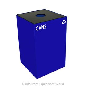 Witt Industries 24GC01-BL Waste Receptacle Recycle