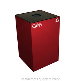 Witt Industries 24GC01-SC Waste Receptacle Recycle