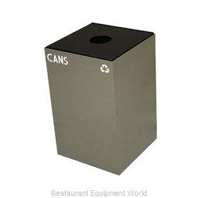 Witt Industries 24GC01-SL Waste Receptacle Recycle