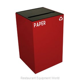 Witt Industries 24GC02-SC Waste Receptacle Recycle