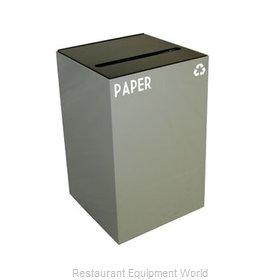 Witt Industries 24GC02-SL Waste Receptacle Recycle