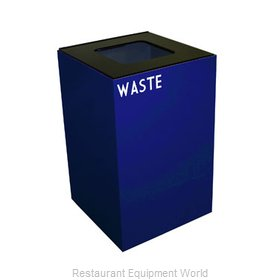 Witt Industries 24GC03-BL Waste Receptacle Recycle