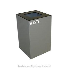 Witt Industries 24GC03-SL Waste Receptacle Recycle