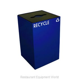 Witt Industries 24GC04-BL Waste Receptacle Recycle