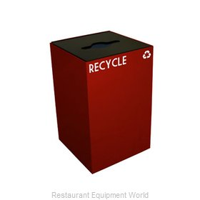 Witt Industries 24GC04-SC Waste Receptacle Recycle