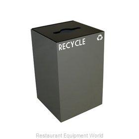 Witt Industries 24GC04-SL Waste Receptacle Recycle
