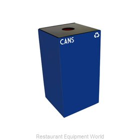 Witt Industries 28GC01-BL Waste Receptacle Recycle