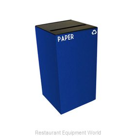 Witt Industries 28GC02-BL Waste Receptacle Recycle