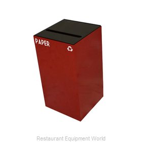Witt Industries 28GC02-SC Waste Receptacle Recycle
