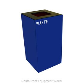 Witt Industries 28GC03-BL Waste Receptacle Recycle