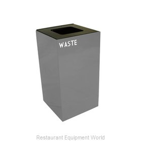 Witt Industries 28GC03-SL Waste Receptacle Recycle