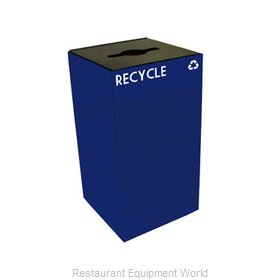Witt Industries 28GC04-BL Waste Receptacle Recycle