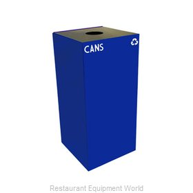 Witt Industries 32GC01-BL Waste Receptacle Recycle