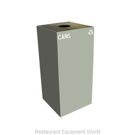 Witt Industries 32GC01-SL Waste Receptacle Recycle