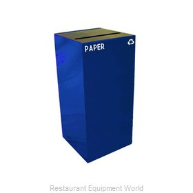 Witt Industries 32GC02-BL Waste Receptacle Recycle