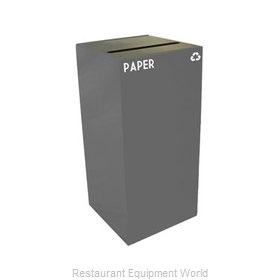 Witt Industries 32GC02-SL Waste Receptacle Recycle