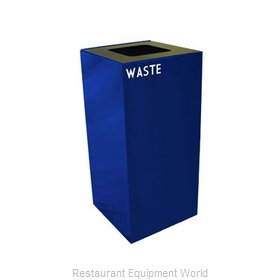 Witt Industries 32GC03-BL Waste Receptacle Recycle