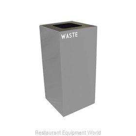 Witt Industries 32GC03-SL Waste Receptacle Recycle