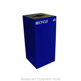 Witt Industries 32GC04-BL Waste Receptacle Recycle
