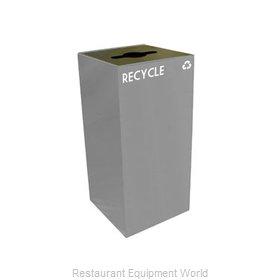Witt Industries 32GC04-SL Waste Receptacle Recycle