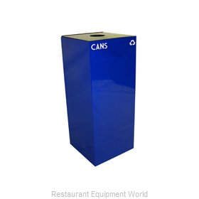 Witt Industries 36GC01-BL Waste Receptacle Recycle