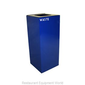 Witt Industries 36GC03-BL Waste Receptacle Recycle