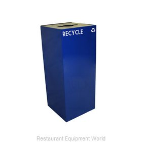 Witt Industries 36GC04-BL Waste Receptacle Recycle
