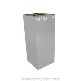 Witt Industries 36GC04-SL Waste Receptacle Recycle