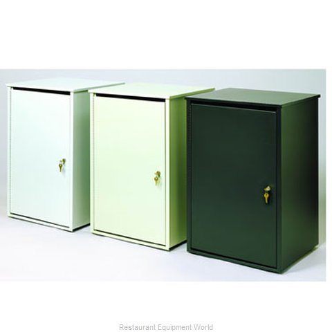 Witt Industries 36PSS-PT Trash Container Cabinet