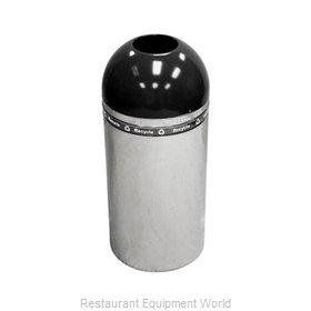 Witt Industries 415DT-44R-BK Waste Receptacle Recycle