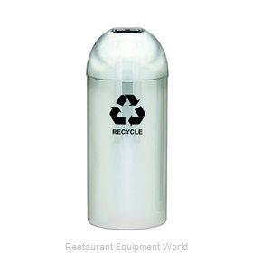 Witt Industries 415DT-PM-R Waste Receptacle Recycle