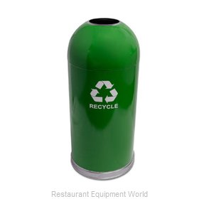 Witt Industries 415DTGN-R Waste Receptacle Recycle