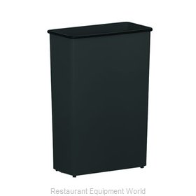 Witt Industries 70BK Trash Garbage Waste Container Stationary