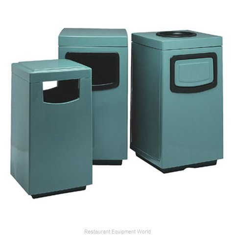 Witt Industries 7S-2040TSP Trash Garbage Waste Container Stationary