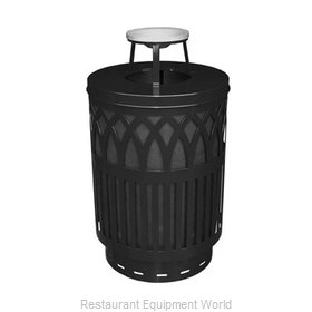 Witt Industries COV40-AT-BK Waste Receptacle Outdoor