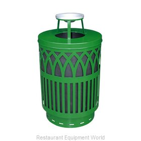 Witt Industries COV40-AT-GN Waste Receptacle Outdoor