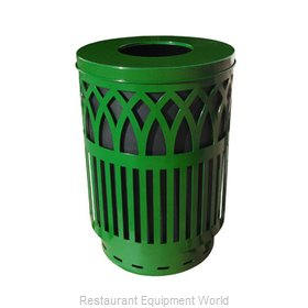 Witt Industries COV40-FT-GN Waste Receptacle Outdoor