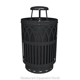 Witt Industries COV40-RC-BK Waste Receptacle Outdoor