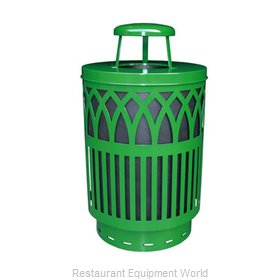 Witt Industries COV40-RC-GN Waste Receptacle Outdoor