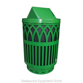 Witt Industries COV40-SWT-GN Waste Receptacle Outdoor