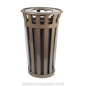 Witt Industries M2401-FT-BN Waste Receptacle Outdoor