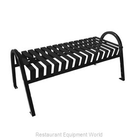 Witt Industries M4-BBC-BK Bench Outdoor